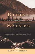"Jana Richman ""Riding in the Shadow of Saints"" cover"